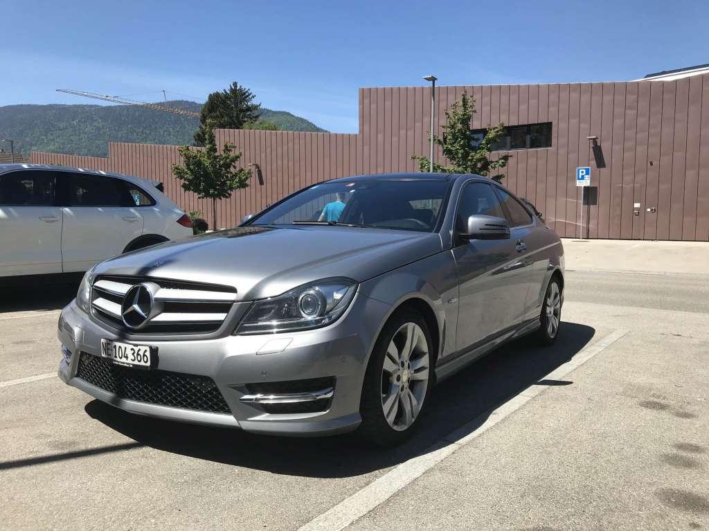 Mercedes-Benz C-Klasse C204 Coupé C 250 CDI BlueEF