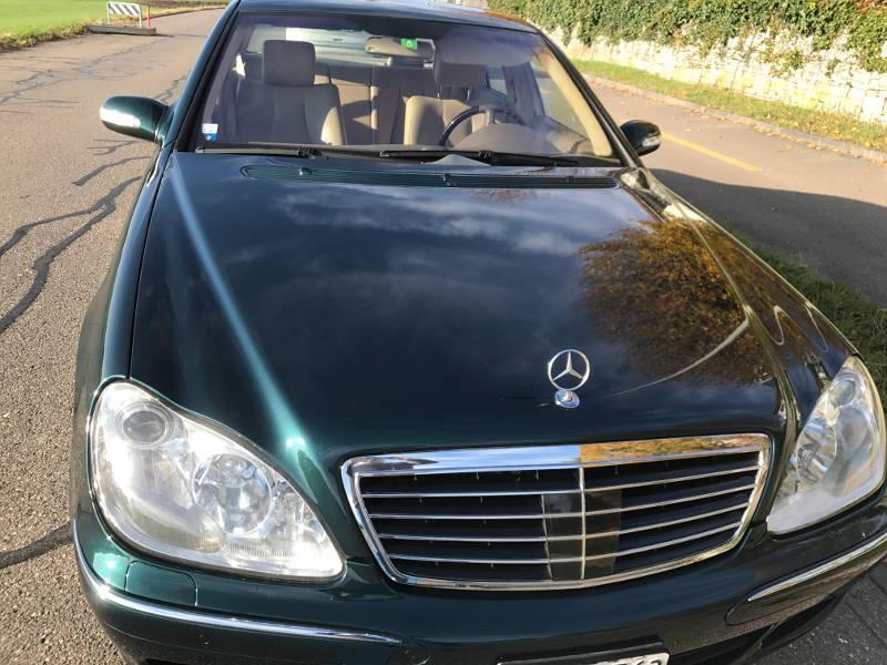 Mercedes-Benz S-Klasse W220 S 600 V12 lang