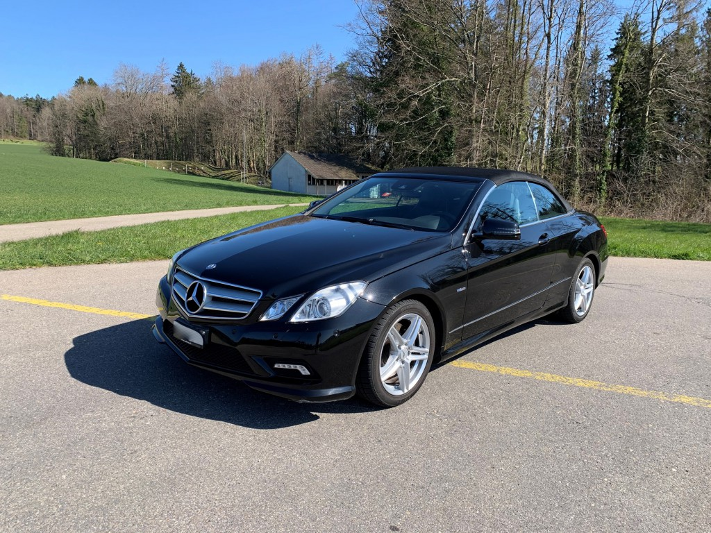 Mercedes-Benz E-Klasse A207 Cabriolet E 250 CGI BlueEF