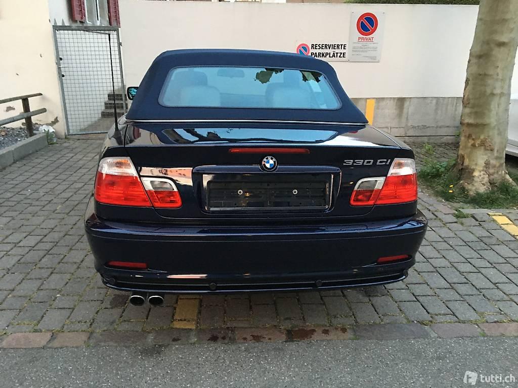 BMW 3er Reihe E46 Cabriolet 330Ci
