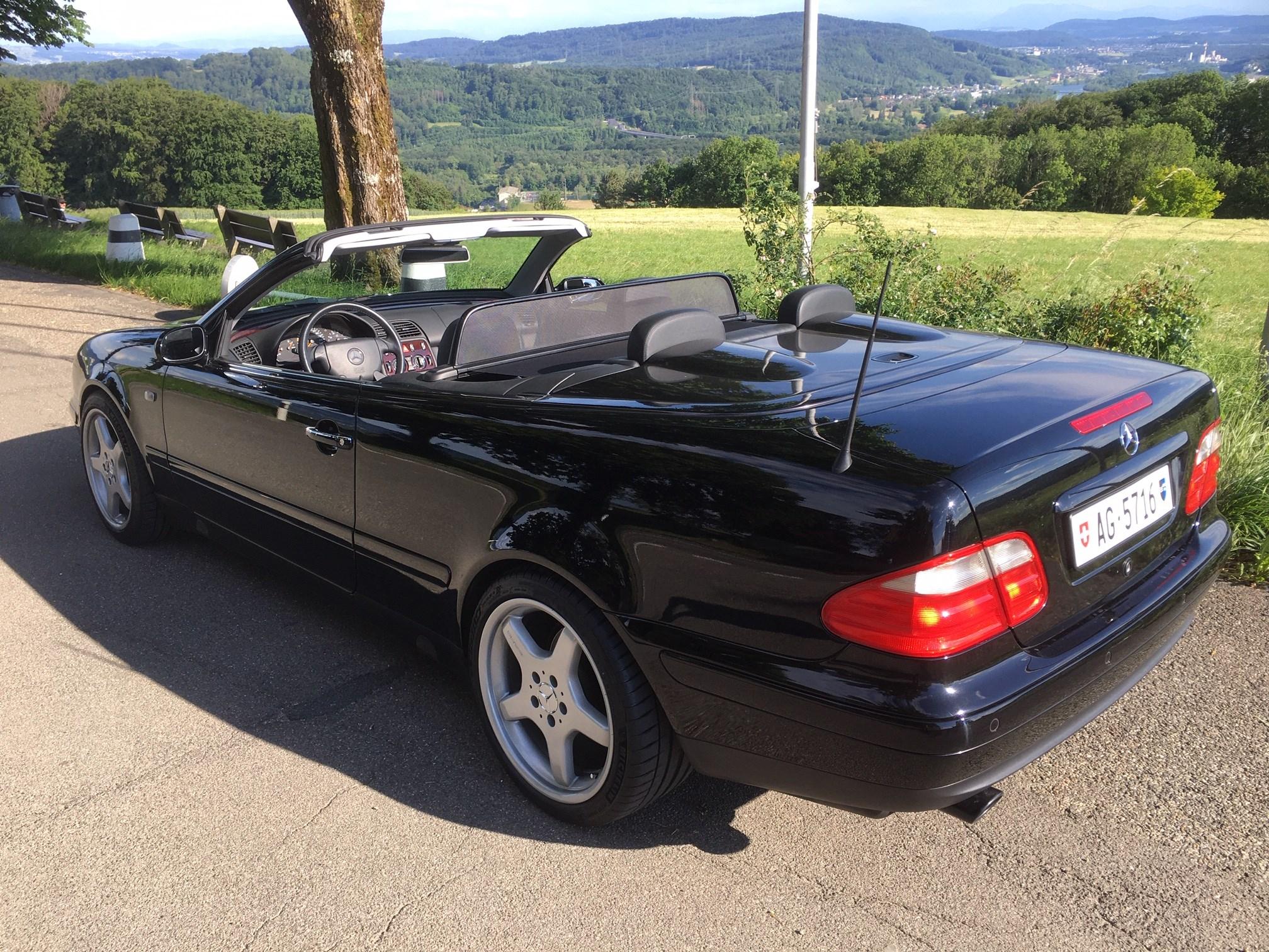 Mercedes-Benz CLK-Klasse A208 Cabriolet CLK 320 V6