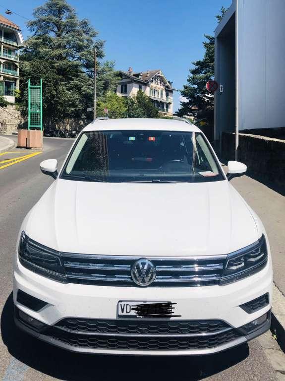VW Tiguan 2.0 TSI Highline DSG