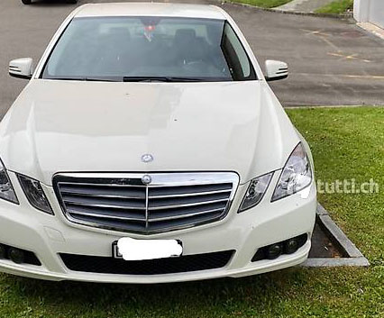 Mercedes-Benz E-Klasse W212 E 250 BlueEF