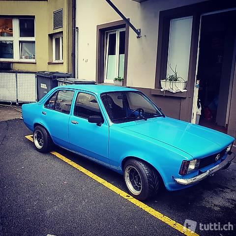 Opel Kadett C Umbau auf 2.4
