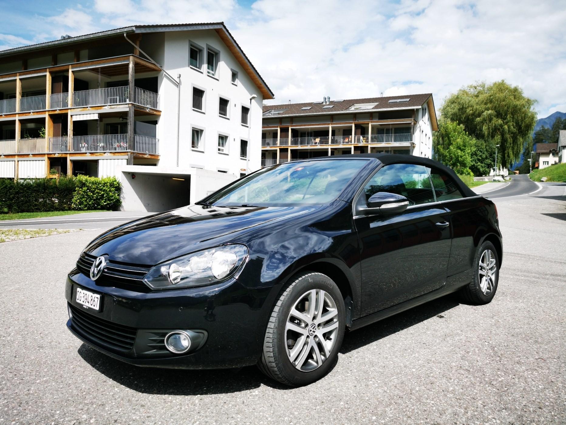 VW Golf VI Cabriolet 1.2 TSI BlueMT Black Line