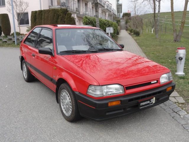 Mazda 323 1.6i GT Turbo