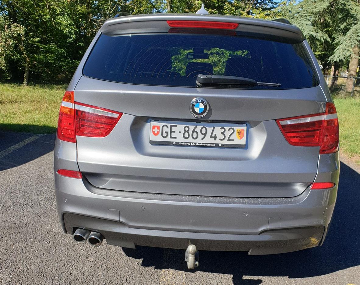 BMW X3 F25 30d xDrive SAG
