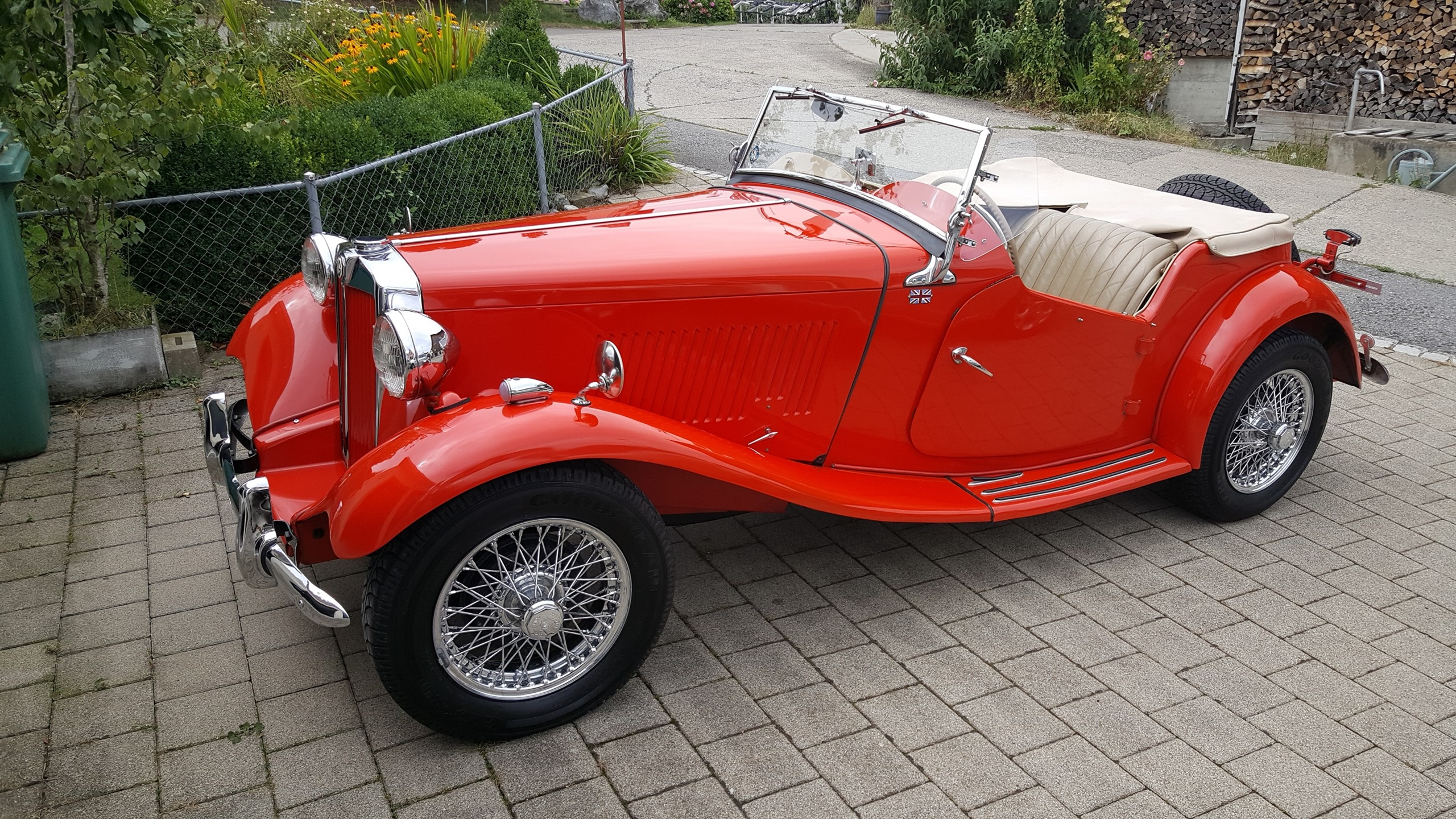 MG TD (Cabriolet)