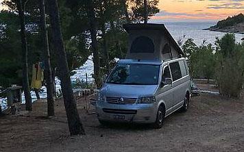 VW T5 1.9 TDI Camper