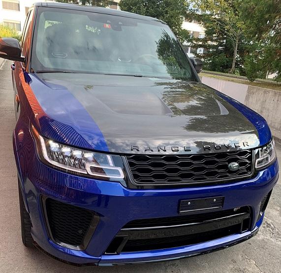 Land Rover Range Rover Sport 5.0 V8 SC SVR