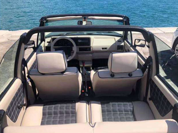 VW Golf I Cabriolet 1.8