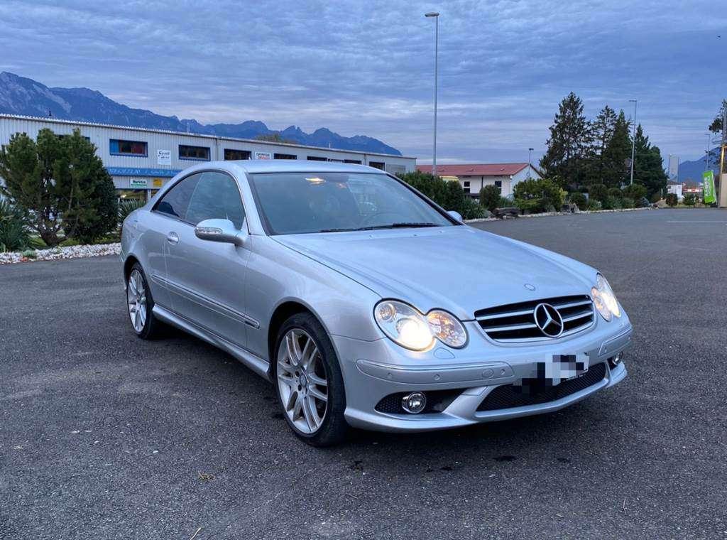 Mercedes-Benz CLK-Klasse C209 Coupé CLK 200 Kompressor