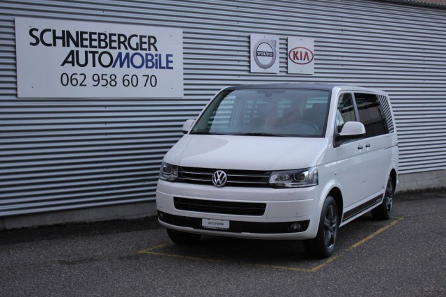 VW T5 Multivan 2.0 TDI CL Ed. 25 4M. DSG (Bus)+