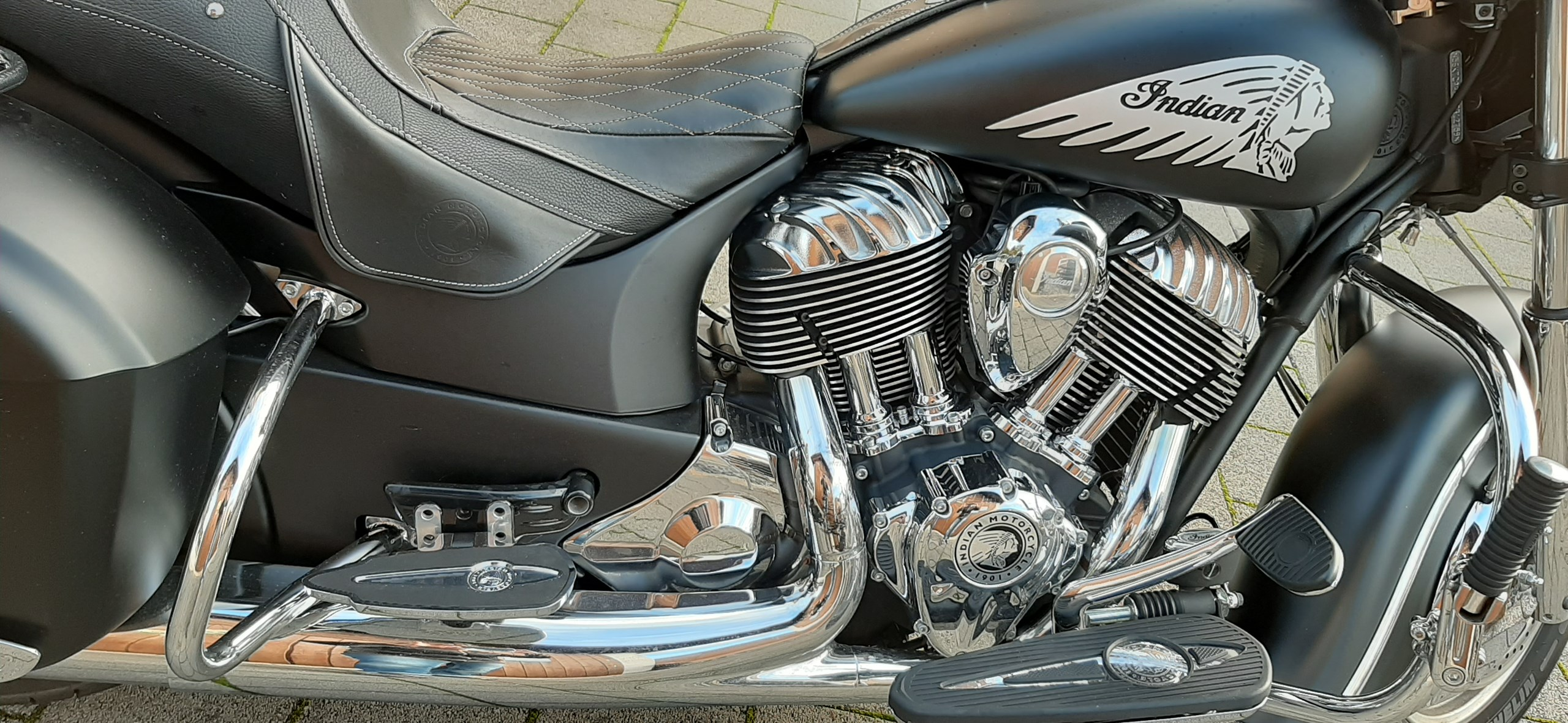 Indian Chieftain ABS