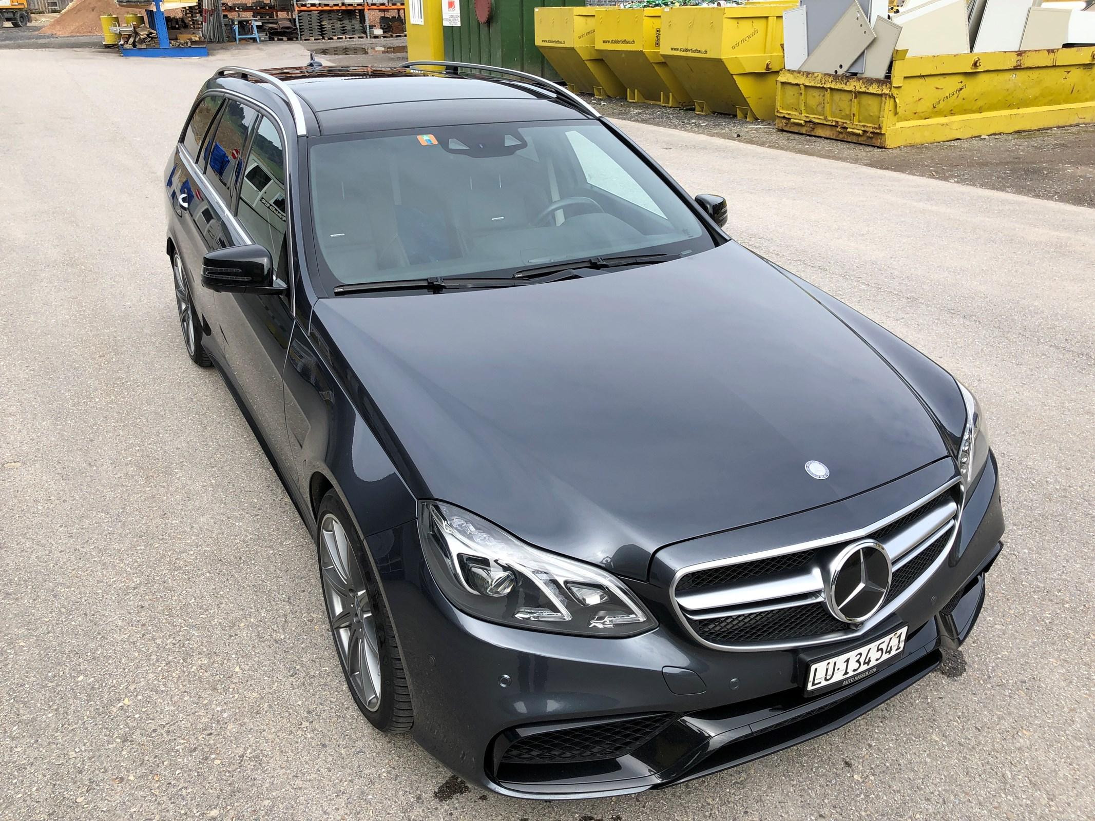 Mercedes-Benz E-Klasse S212 Kombi E 63 V8 AMG S 4matic