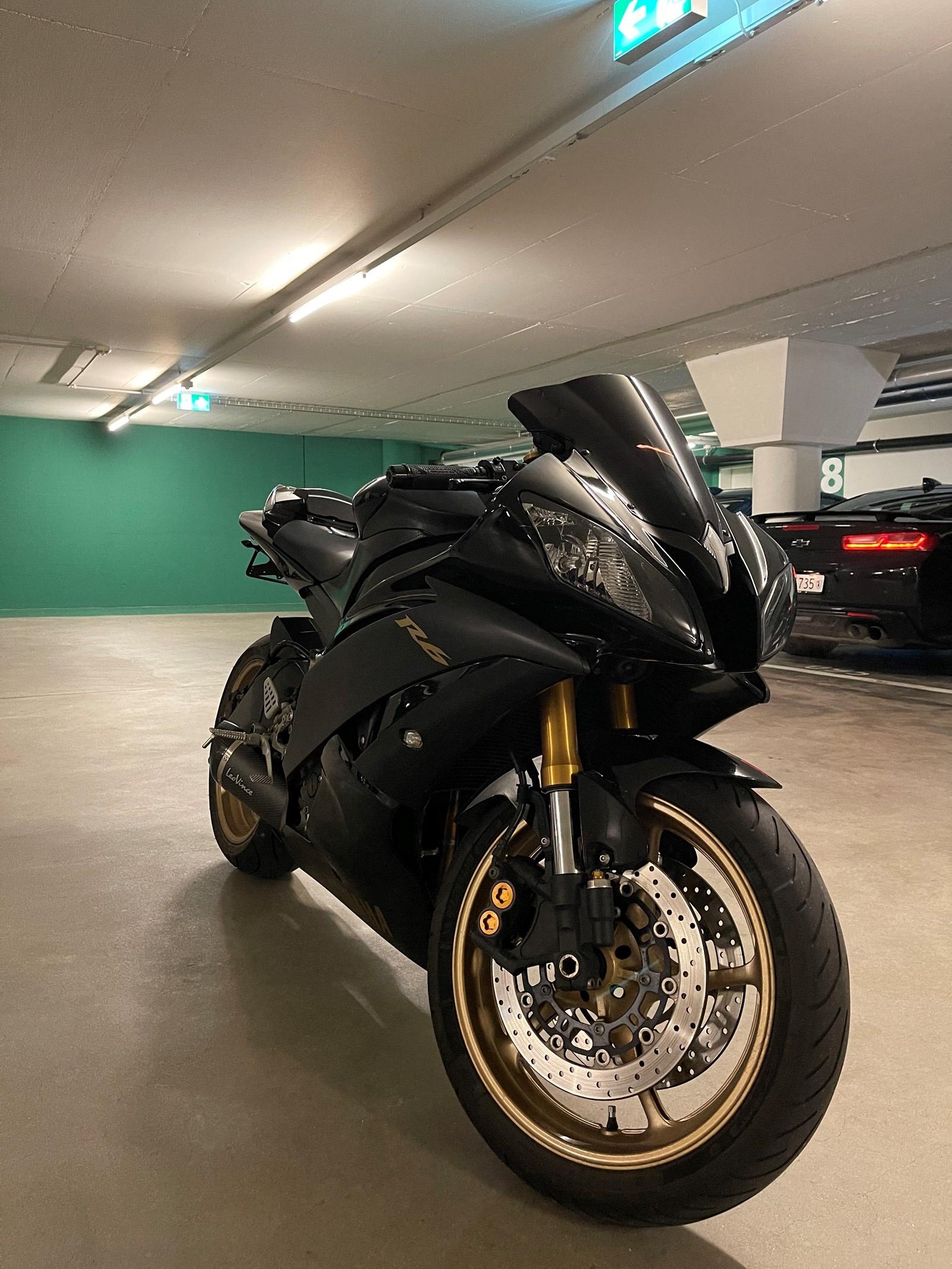Yamaha YZF-R6 08