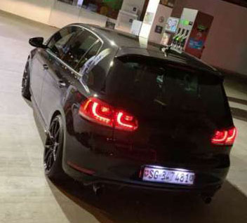 VW Golf VI 2.0 TSI GTI