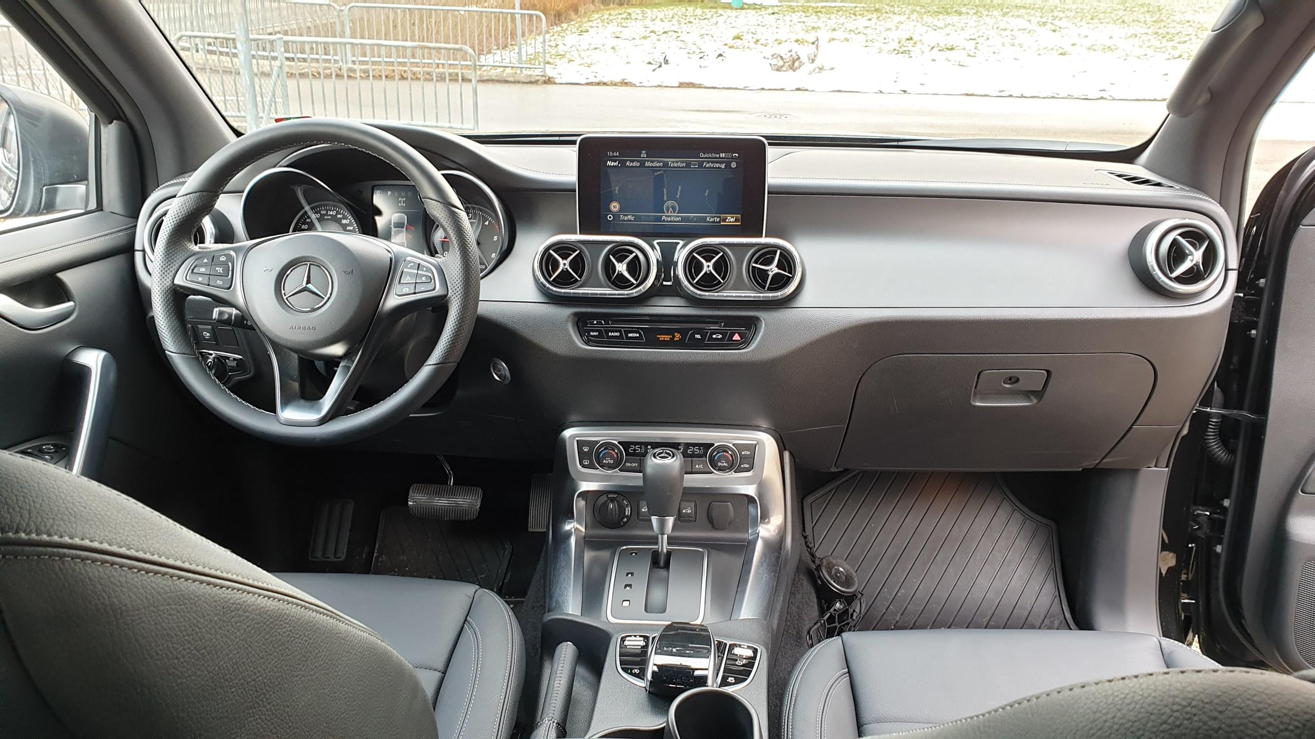 Mercedes-Benz X 350d 4Matic Power A Doppel Cab. (Pick-up)