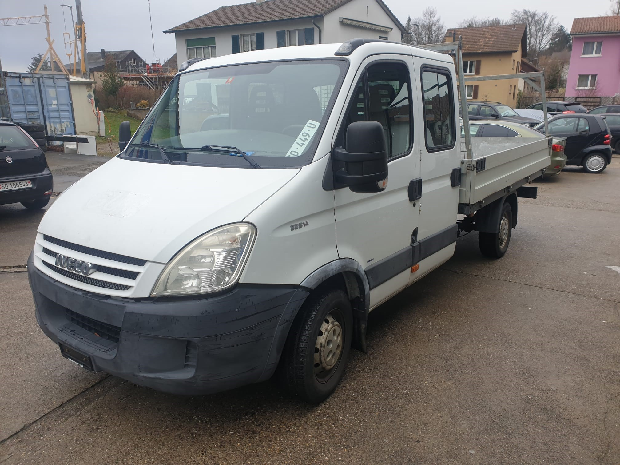 Iveco Daily 35 S 14 D GBCA64A1B1 (Chassis Kabine)